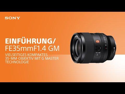 Das neue FE 35 mm F1.4 GM Objektiv von Sony