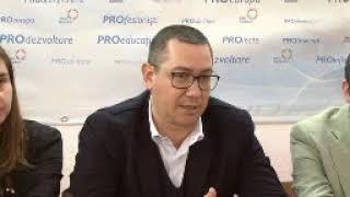 Victor Ponta sustine ca Dragnea a fost protejat de Kovesi