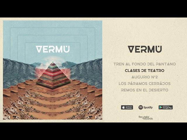 audio oficial del tema clases de teatro de vermú