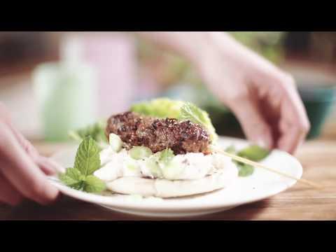 Recepttips från Apetina - Lammkebab med ostkräm