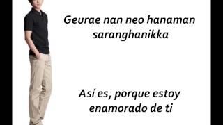 Yesung - It has to be you (Sub Español + Romanizacion)