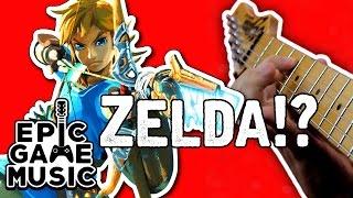 Legend of Zelda Main Theme (Guitar Remix) || Epic Game Music