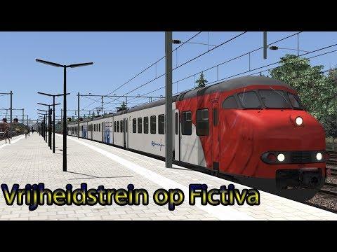 Vrijheidstrein op Fictiva  Train Simulator 2018