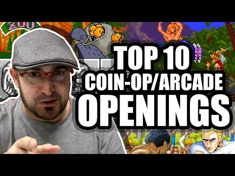 TOP 10 Coin-Op/Arcade Openings