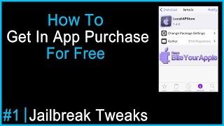 Jailbreak Tweaks Ep. 1 - How To Get In App Purchase For Free