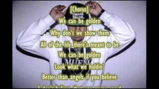 Brandon Beal - Golden LYRIC VIDEO