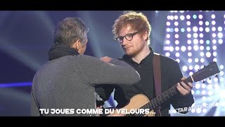 Répétitions 513e de Taratata avec Ed Sheeran & James Blunt (2017)