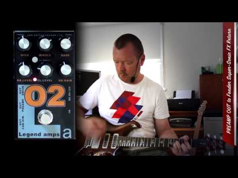 AMT Electronics : O2 Preamp & Effects Pedal