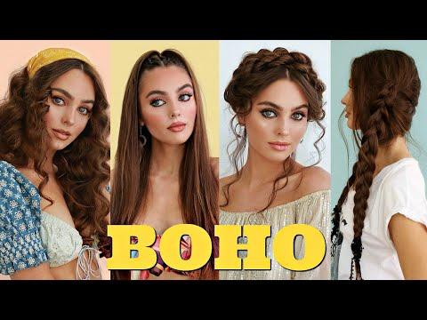 HEATLESS Hairstyles For Summer! '70s Boho Hair Tutorial