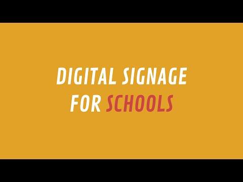 ScreenScape Digital Signage for Schools
