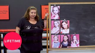 Dance Moms: First-Ever Pyramid Ranking (Season 1 Flashback) | Lifetime