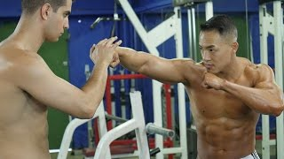 WORKOUT BUDDIES - The Six Pack Shortcuts Rap Debut! (Written & Performed By Christopher Jay)