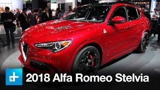 2018 Alfa Romeo Stelvio - First Look