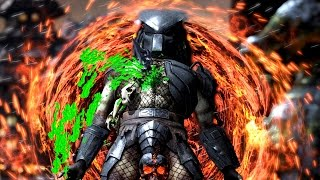 Mortal Kombat X Predator All Test Your Might Failure / Fails PC Ultra Settings