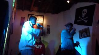 Uskey - Seguiré dando las gracias (LIVE) + Kino + dj Rahbeat