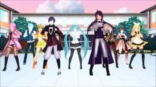 Mr Taxi( Luka, Matsudappoiyo, Kaito, Miku, Len, Rin, Gumi, Gakupo, Meiko) (HD Remake)