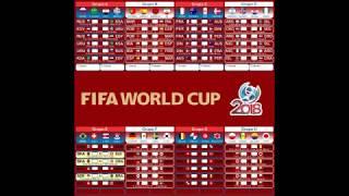 Tabela da Copa do Mundo Oficial width=