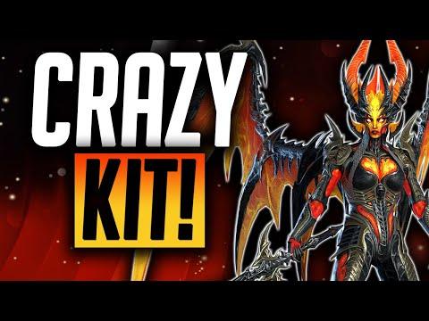 Sicia Flametongue CRAZY KIT! | Raid: Shadow Legends