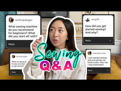 Answering Your Sewing Questions! @coolirpa Q&A