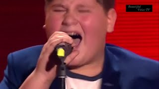 Irakli.'It's a man's world'.The Voice Kids Russia.