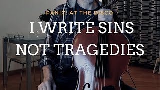 Panic! At The Disco - I Write Sins Not Tragedies for cello and piano (COVER)