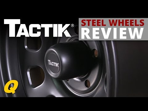 Tactik Steel Wheels for Jeep Vehicles