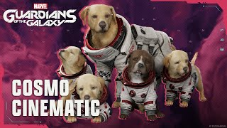 Marvel\'s Guardians of the Galaxy \'Cosmo the Space Dog\' cinematic