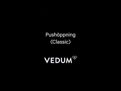 Vedum Kök & Bad - Pushöppning Classic