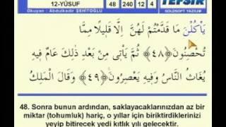 Abdülkadir Şehitoğlu Hatim Yusuf sayfa 240