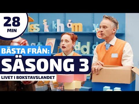 Livet i Bokstavslandet - Det bästa från säsong 3