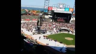Santana doobie concert San Francisco