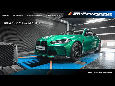 BMW G82 M4 COMPETITION / Stock Dynorun By BR-Performance