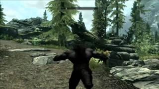 Skyrim // Bug:  Wolf Man