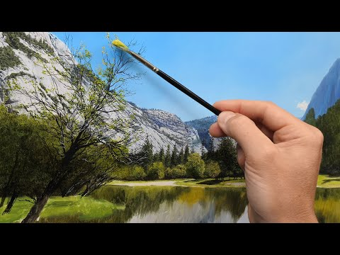 How to Paint Mountains and Trees | Episode 205