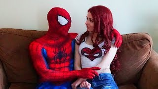 Spiderman and Mary Jane In Real Life (A day in the life of  Spider-man)