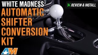 2015-2017 Mustang GT, EcoBoost, V6 White Madness Automatic Shifter Conversion Kit Review & Install