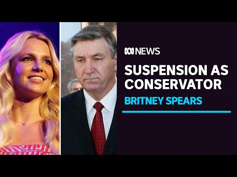 Britney Spears' father suspended as singer's conservator | ABC News