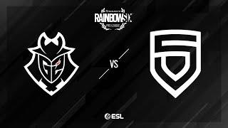G2 Esports vs. PENTA - Kafe - Rainbow Six Pro League - Season X - EU