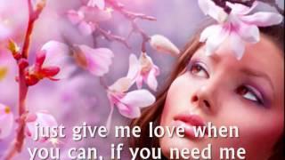 WOMAN IN LOVE - (Lyrics)
