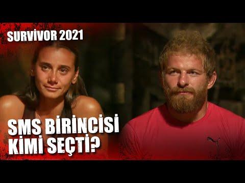 SMS BİRİNCİSİ BELLİ OLDU! | Survivor 2021