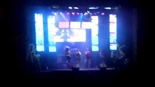 Francelos festa 2013 - abertura do grupo Rytmo Show.