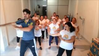 Prof. João Paulo, Jane e o Grupo de Dança do Idoso de Santa Rita- PB (SHOW DAS PODEROSAS)