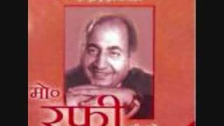 Film Mehandi,1958  Song, Jo Kotho ki Raunak by Rafi Sahab