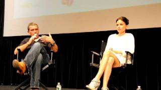 Antonio Banderas discuss Dr. Ledgard, NYFF 2011 The Skin I Live In Press Conference