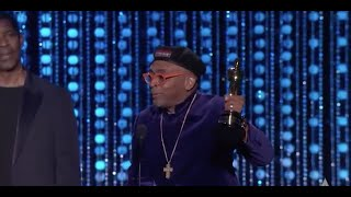 Spike Lee receives an Honorary Award at the 2015 Governors Awards (Full Speech)