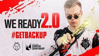 We Ready 2.0 | G2 League of Legends