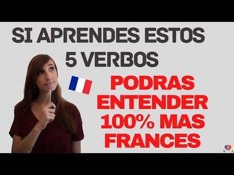 Si Aprendes ESTAS 5 Verbos Difíciles en Francés Podrás Entender 100% Más