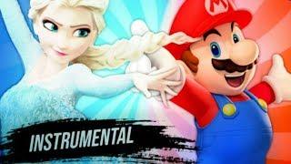 Instrumental - Elsa VS. Mario   Torneio De Titãs Part Felicia Rock (7 Minutoz)