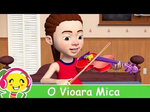 O vioara mica de-as avea - Cantec pentru copii
