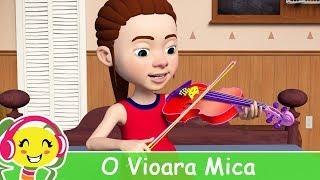 O vioara mica de-as avea 🎻Cantec pentru copii cu instrumentele muzicale